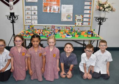 Principals Harmony Lego display